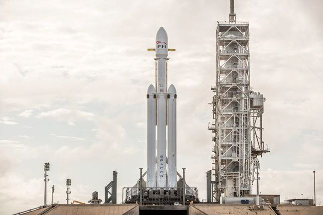 SpaceX's New Beast of a Rocket Is Go for Launch