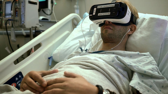 Hospitals Try Giving Patients a Dose of VR