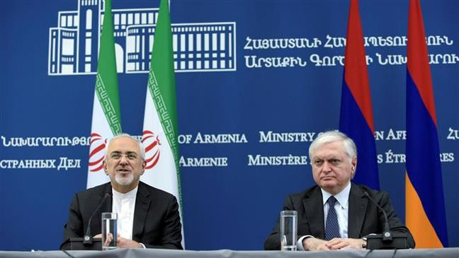 Iran, Armenia should make efforts to broaden economic ties: FM Zarif