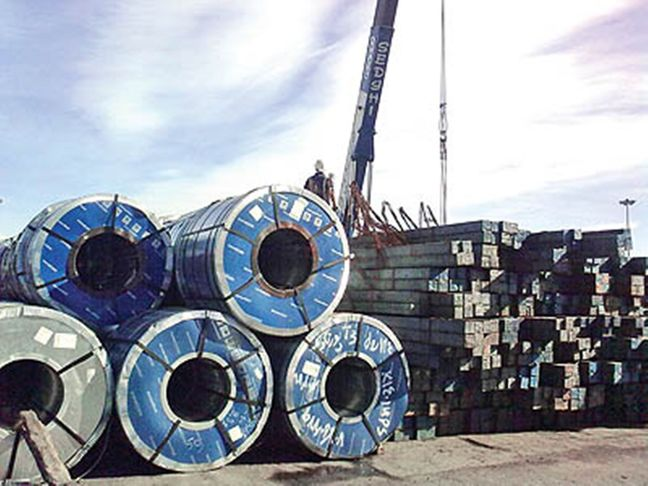 Iran's 11-Month Crude Steel Export Doubles