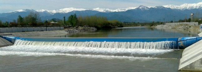 Two Rubber Dams in Mazandaran Near Completion